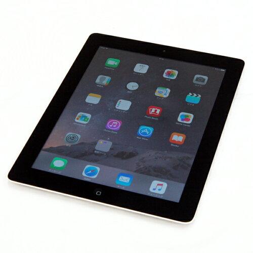 中古 タブレットPC APPLE iPad Retinaディスプレイ Wi-Fiモデル 16GB MD510J/A ブラック 第4世代 A...
