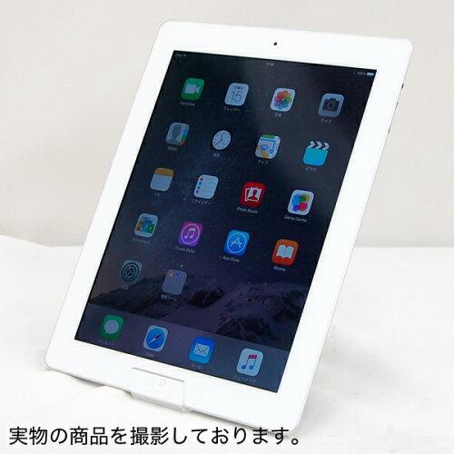 中古 タブレットPC APPLE iPad Retinaディスプレイ Wi-Fiモデル 32GB MD514J/A [ホワイト] 第4世代...