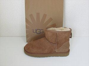 UGG australia アグ オーストラリア シープスキン ブーツ クラシック ミニ サイズUS7 (24cm) チェストナット【新品】UGG australia Classic Mini /Chestnut