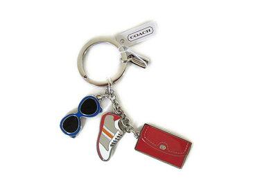 【スペシャル】Coach コーチ キーホルダー キーチェーン チャーム サマー マルチミックス 62509 シルバー マルチ【新品】COACH SUMMER MULTI MIX Key Ring Keychain FOB (Style F62509) SV/MC