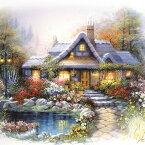 決算セール ジグソーパズル300ピース ジグソーパズル 夢の中の家 house of dreams 風景パズル ヨーロッパ風 名画パズル サイズ340×250mm 付属品 パズル 300-19 卒業式 卒園式 お呼ばれ 二次会