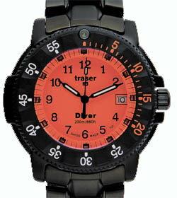 【送料無料】traserトレーサーDIVEROrangeメンズ腕時計P6504.330.54.09【新品】【未使用品】【ラッピング無料】【ギフト】【smtb-k】【w4】【_包装】【smtb-TK】