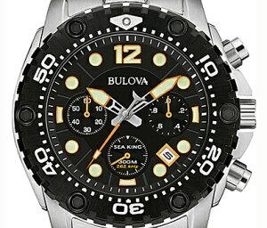【送料無料】国内正規品Bulova[ブローバ]SEAKING〔シーキング〕メンズ腕時計98B244【RCP】【02P19Jun15】