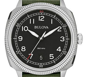 【送料無料】国内正規品BULOVA[ブローバ]MILITARY〔ミリタリー〕メンズ腕時計96B229【RCP】【02P19Jun15】