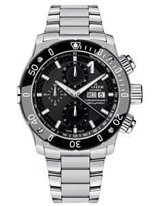 【送料無料】EDOXエドックスクロノオフショア1CHRONOGRAPHAUTOMATICメンズ腕時計01122-3M-NIN正規品【新品】【RCP】【02P03Sep16】