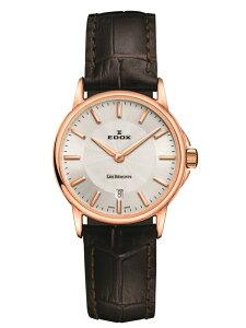 正規品【送料無料】EDOXエドックスレ・ベモンデイトレディース腕時計57001-37R-NAIR【新品】【RCP】【02P03Sep16】