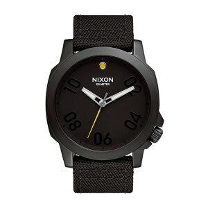 【送料無料】国内正規品NIXONニクソンTHERANGER45NYLONメンズ腕時計NA514001-00【新品】【RCP】【02P12Oct14】