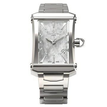 【送料無料】 国内正規品 CHARRIOL シャリオール COLVMBVS CINTERE CONVEXE レディース腕時計 CORMS.920.003【新品】