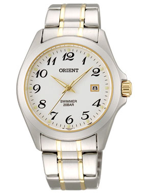 Orient quartz swimmer mens watch WW0041GZ fs3gm