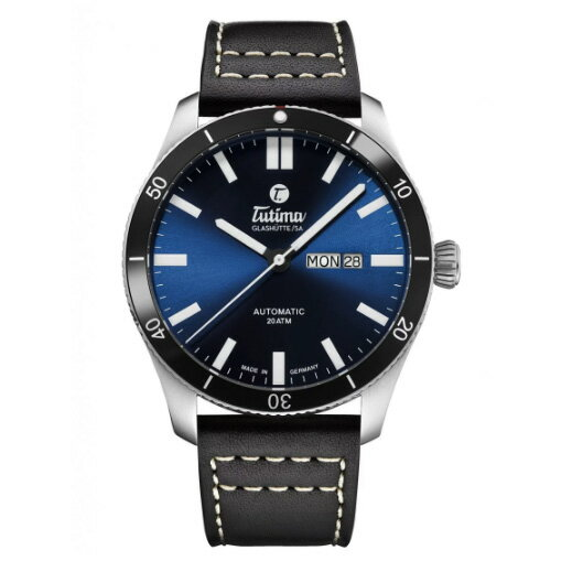 腕時計, メンズ腕時計 BOX or 1031 Tutima Grand Flieger 6101-03