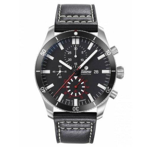 腕時計, メンズ腕時計 BOX or 1031 Tutima Grand Flieger 6401-01