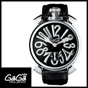 【送料無料】GAGAMILANOガガミラノMANUALE48MMマニュアーレ48mmステンレスメンズ腕時計5010.04S【新品】【RCP】【02P12Oct14】