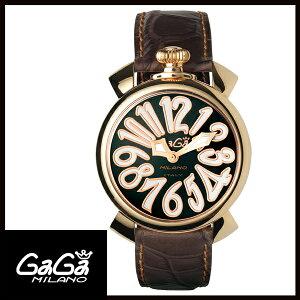 【送料無料】国内正規品GAGAMILANOガガミラノMANUALE40MMGOLDPLATEDレディース腕時計5021.3【新品】【RCP】【02P12Oct14】