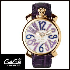 【送料無料】国内正規品GAGAMILANOガガミラノMANUALE40MMGOLDPLATEDレディース腕時計5021.4【新品】【RCP】【02P12Oct14】