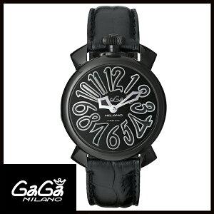 送料無料  国内正規品 GAGA MILANO ガガミラノ MANUALE 40MM ブラックPVD ブランド ブランド レディース腕時計  アンティーク ... a0af6f87e63