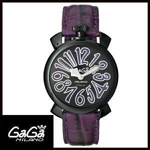 【送料無料】国内正規品GAGAMILANOガガミラノMANUALE40MMブラックPVDレディース腕時計5022.2【新品】【RCP】【02P12Oct14】