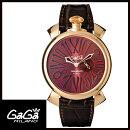 【送料無料】国内正規品GAGAMILANOガガミラノSLIM46MMGOLDPLATEDメンズ腕時計5085.1【新品】【RCP】【02P12Oct14】