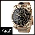 【送料無料】GAGA MILANO ガガミラノ SLIM 46MM スリム 46mm 限定品 メンズ/レディース腕時計 5087.01【新品】【RCP】【02P12Oct14】