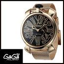 【送料無料】GAGAMILANOガガミラノSLIM46MMスリム46mm限定品メンズ/レディース腕時計5087.01【新品】【RCP】【02P12Oct14】