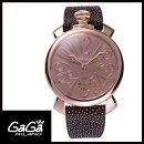 【送料無料】世界限定:500本GAGAMILANOガガミラノMANUALE48MMマニュアーレ48mmMIRRORメンズ腕時計5211.MIR.01S【新品】【RCP】【02P12Oct14】