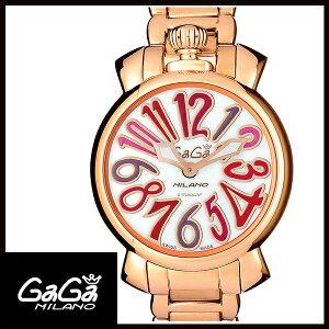 【2日20時 エントリーでポイント最大39倍!9日1時59分まで!】 【24回払いまで無金利】 【送料無料】 国内正規品 GAGA MILANO ガガミラノ MANUALE 35MM GOLD PLATED レディース腕時計 6021.3【新品】