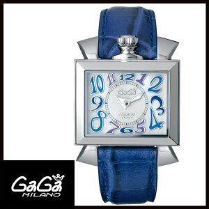 【24回払いまで無金利】 【送料無料】 国内正規品 GAGA MILANO ガガミラノNAPOLEONE 40MM ステンレス レディース腕時計 6030.3【新品】