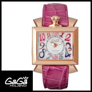 [لا سعر فائدة حتى دفع 24 مرة] [شحن مجاني] محلي حقيقي Gaga Milano Gaga Milano NAPOLEONE 40MM GOLD PLATED Ladies Watch 6031.1 [جديد]