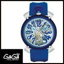【送料無料】GAGAMILANOガガミラノMANUALE48MMマニュアーレ48mmクリスタルメンズ腕時計6090.03【新品】【RCP】【02P12Oct14】