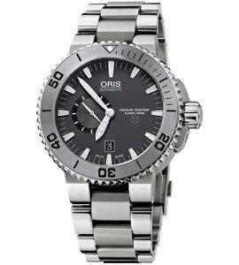 【送料無料SALE】ORIS[オリス]ダイビングアクイスチタンスモールセコンドデイトメンズ腕時計Ref.74376647253M【新品】【_包装】【RCP】【02P17May13】fs2gm