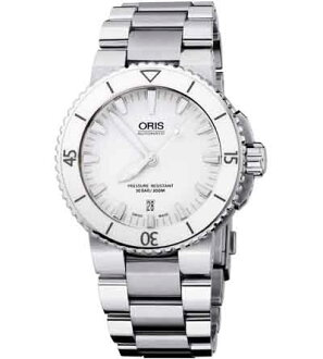 ORIS dive aquis date mens watch Ref.733 7653 41 56M fs3gm