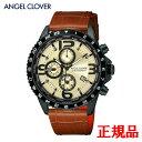 ANGEL CLOVER エンジェルクローバー MONDO メンズ腕時計 クォーツ クロノグラフ 送料無料 MO44BSB-LB ラッピング無料