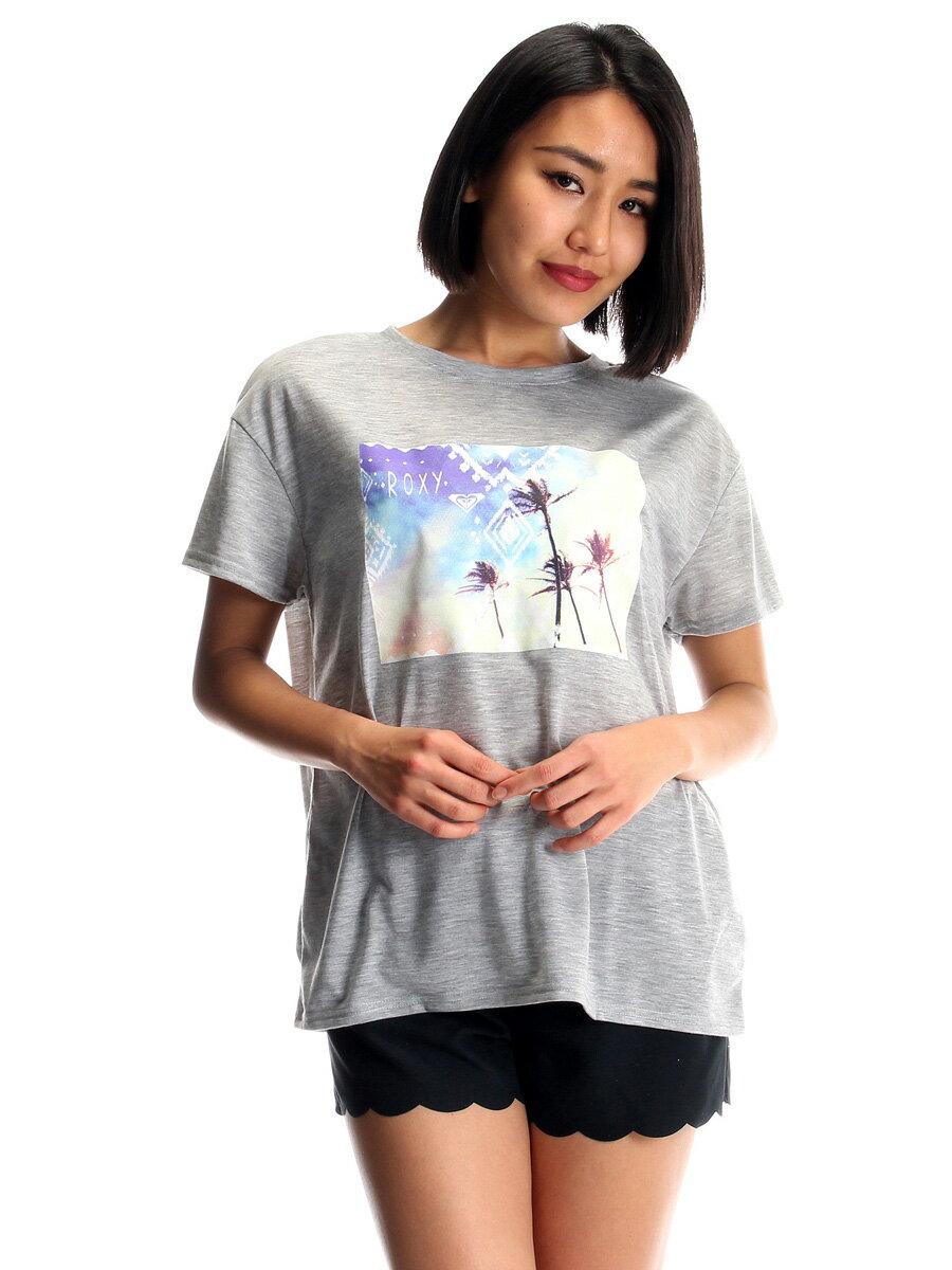 【ROXYロキシー】レディースROXYDREAMラッシュガードTシャツRLY172024GRY