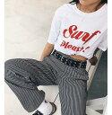 アウトレット価格 ROXY ロキシー ビックシルエット グラフィック Tシャツ Tシャツ ティーシャツ