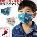 子供用 白クマ パンダ柄 布マスク 可愛い くま 日本製 洗える ファッションマスク 在庫有り