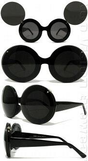 LADY GAGA Lady Gaga太陽眼鏡FLIP UP米奇郵件班次不可