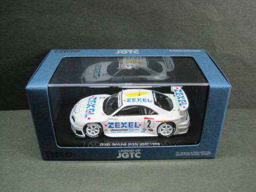 車, ミニカー・トイカー 143 EBBRO ZEXEL SKYLINE JGTC 1998 2 LDF