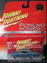 1/64 ジョニーライトニング JOHNNY LIGHTNING PONCHO POWER 1965 PONTIAC GTO ポンティアック ミニカー アメ車