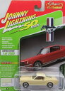 1/64 ジョニーライトニング JOHNNY LIGHTNING Classic Gold 2019 1965 Ford Mustang 2+2 フォード マスタング ミニカー アメ車