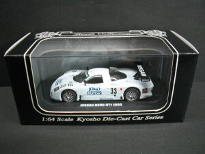 1/64 KYOSHO Beads Collection NISSAN R390GT1 1998 PRE-QUALIFICATIONS No.33 日産 ミニカー