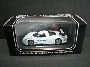 1/64 京商 KYOSHO Beads Collection NISSAN R390GT1 1998 TEST CAR NO.23 日産 テストカー ミニカー