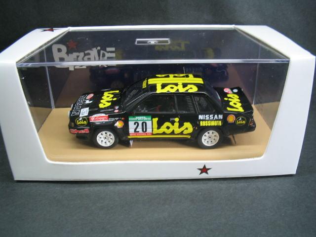 車, ミニカー・トイカー 143 BIZARRE Nissan 240RS LOIS Portugal Rallye 1985