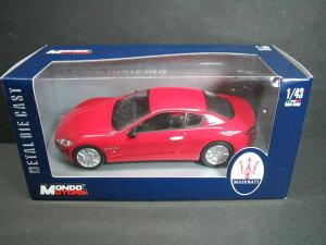 定価の10%OFF1/43scale モンドモーターズ MONDO MOTORS Maserati GranTurismo マセラティ グラ...