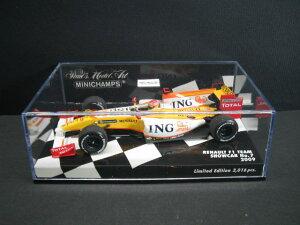 定価の20%OFFミニチャンプス MINICHAMPS Renault F1 Team Showcar No.7 2009 ルノー ショウカー