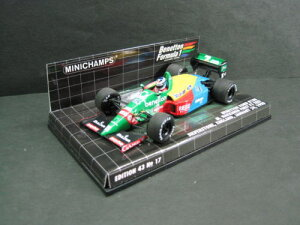 定価の20%OFF1/43scale ミニチャンプス MINICHAMPS Benetton Ford B188 M. Hakkinen First F1 T...