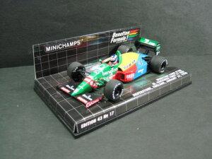 定価の20%OFF1/43scale ミニチャンプス MINICHAMPS Benetton Ford B188 M. Hakkinen First F1 T...