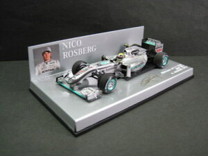 定価の20%OFF1/43scale ミニチャンプス MINICHAMPS Mercedes GP F1 Team MGP W01 N.Rosberg 201...