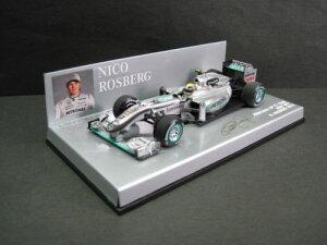定価の20%OFF1/43scale ミニチャンプス MINICHAMPS Mercedes GP F1 Team MGP W01 N.Rosberg 201...