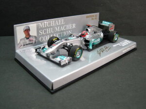 定価の20%OFF1/43scale ミニチャンプス MINICHAMPS Mercedes GP F1 Team Showcar 2011 M.Schuma...