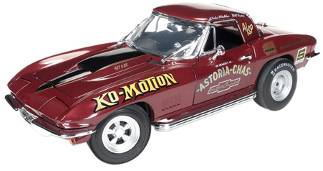 1/18scaleautoworldAmericanMuscle1967BaldwinMotionCorvetteボールドウィンモーションコルベット