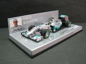定価の20%OFF1/43scale ミニチャンプス MINICHAMPS Mercedes GP F1 Team Showcar 2011 N.Rosber...